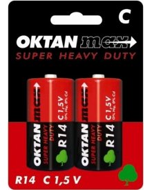 OKTAN Max R14 1,5V bateria cynkowo węglowa 2szt