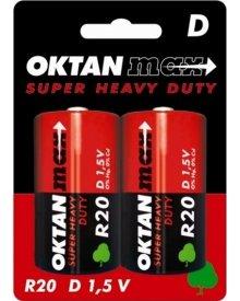 OKTAN Max R20 1,5V bateria cynkowo węglowa 2szt