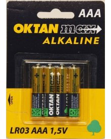 OKTAN Max AAA LR03 1,5 bateria alkaliaczna 4szt