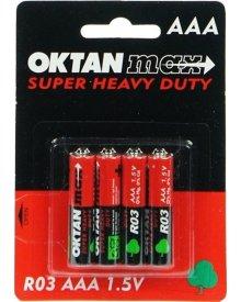 OKTAN Max AAA R03 1,5 bateria cynkowo węglowa 4szt