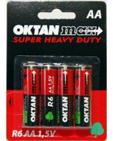 OKTAN Max AA R6 1,5V bateria cynkowo węglowa 4szt
